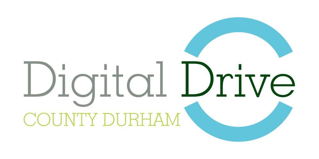 Digital Drive County Durham logo