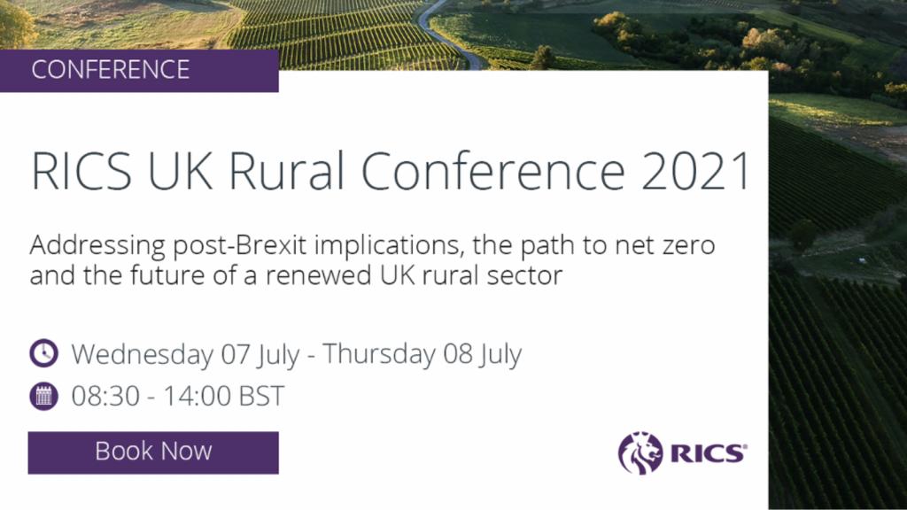 RICS UK Rural Conference 2021 event image