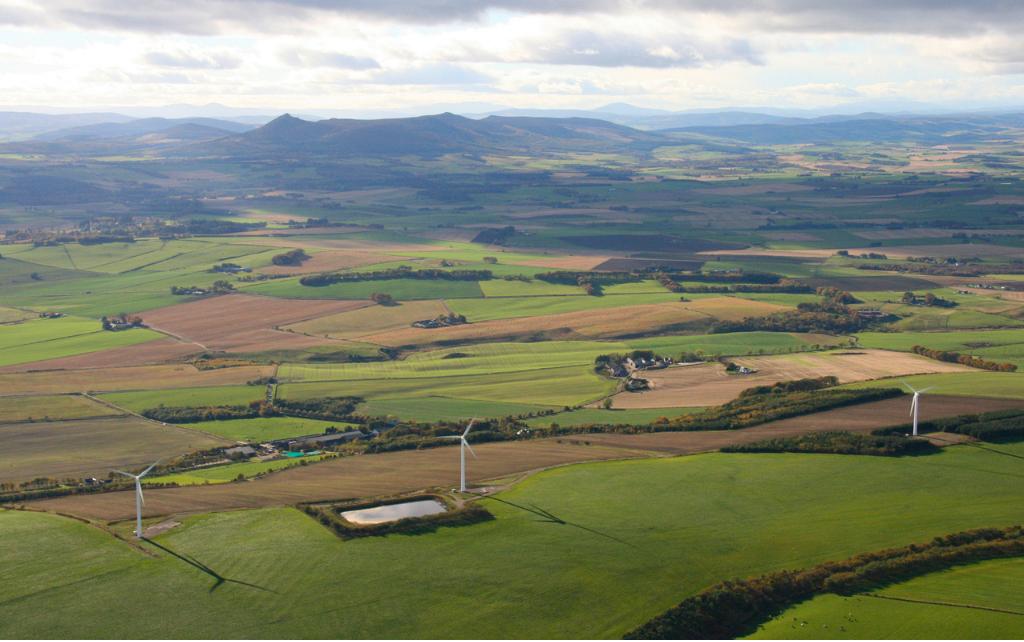 Mackie's of Scotland aerial view